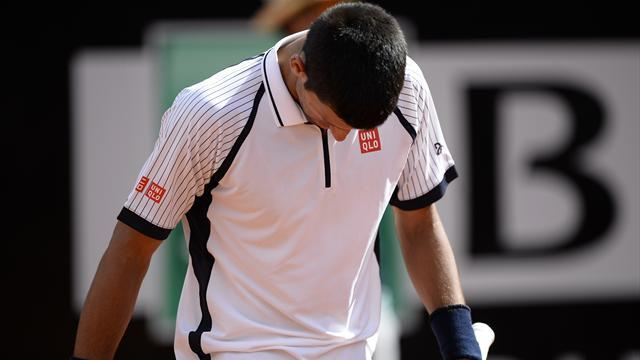 Tennis - Berdych stuns Djokovic in Rome, faces Nadal in semis