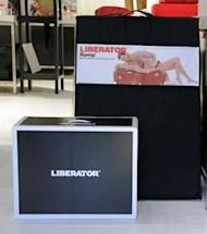 New Liberator packaging with former retail package in the background. Click here for high-resolution version