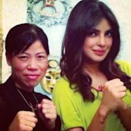Mary Kom Makes Priyanka Chopra Bleed