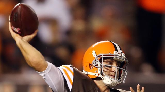 American Football - Hoyer's year cut short by injury