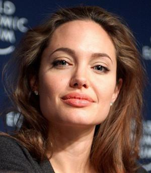 Angelina Jolie has lips that just won't stop.