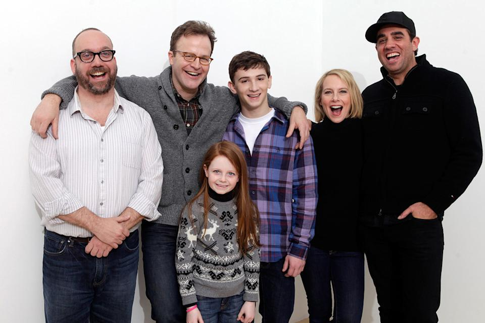 2011 Sundance Film Festival Portraits Paul Giamatti Thomas McCarthy Clare Foley Alex Shaffer Amy Ryan Bobby Cannavale