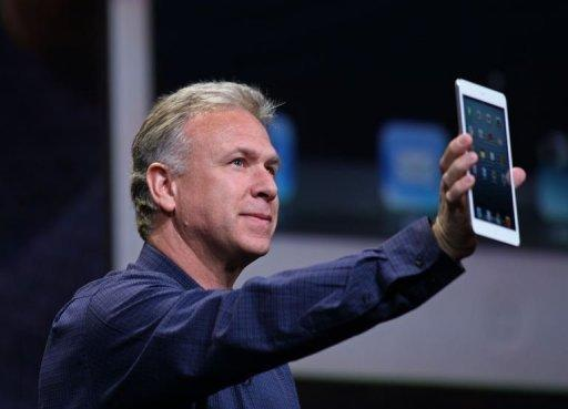"""This isn't just a shrunken down iPad,"" Schiller said. ""It is an entirely new design"""