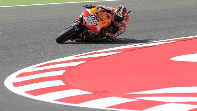 Motorcycling - Pedrosa blames tyres for defeat