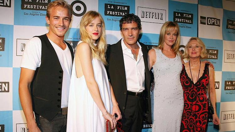 Los Angeles Film Festival 2008 Jesse Johnson Dakota Johnson Antonio Banderas Melanie Griffin Tippi Hedren