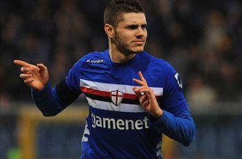 Sampdoria youngster Icardi flattered by Inter link