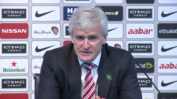 Mark Hughes disappointed with conceeding 12 goals in the last 3 Premier League games.