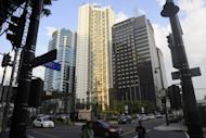 File photo of downtown Manila. Australian billionaire James Packer and Macau gambling tycoon Lawrence Ho are teaming up with the Philippines' richest family to develop a $1 billion casino in Manila, the Philippine partner said Friday