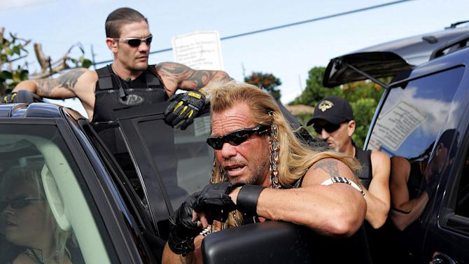 "Dog Chapman in ""Dog The Bounty Hunter."""
