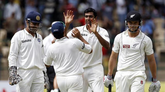 Five-wicket Ashwin torments NZ again