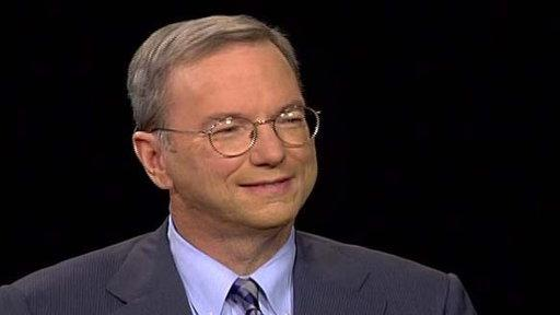 Eric Schmidt, CEO of Google, 'Wall Street: Money Never Sleeps'