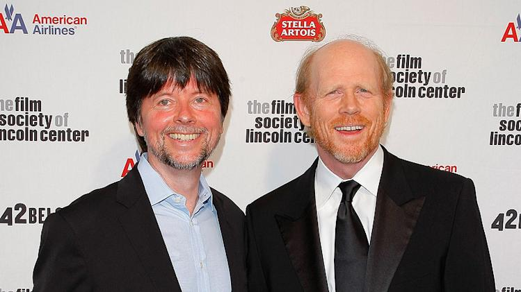 36th Film Society Of Lincoln Center's Gala Tribute 2009 Ron Howard Ken Burns