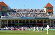 West Indies batsman Marlon Samuels during the first day of the second Test match against England at Trent Bridge on May 25. The West Indies lost the second Test against England, leaving them with a record of just two wins in their last 33 Tests