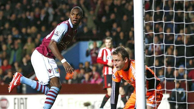 Premier League - Benteke hits hat-trick as Villa destroy Sunderland