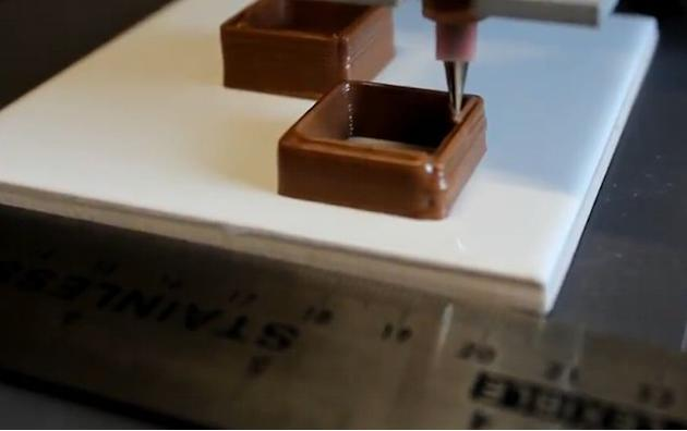 5. 3D chocolate printer. It's the ultimate device for the sweet-toothed. A British team from Exeter University have developed the world's first printer that lets you create your own custom-made 3D chc