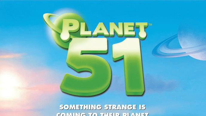 Planet 51 Poster Production Stills Tri-Star 2009