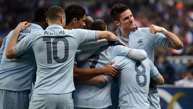 World Cup - France go top after beating Georgia