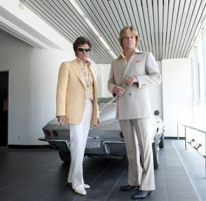 BEHIND THE CANDELABRA: Michael Douglas, Matt Damon. photo: Claudette Barius/HBO