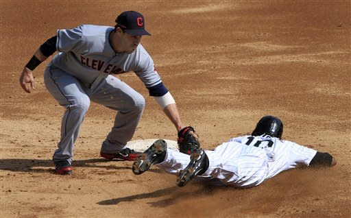 White Sox stumble with 4-3 loss to Indians