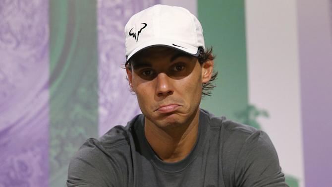 Tennis - Tests show Nadal recovery from wrist injury on track