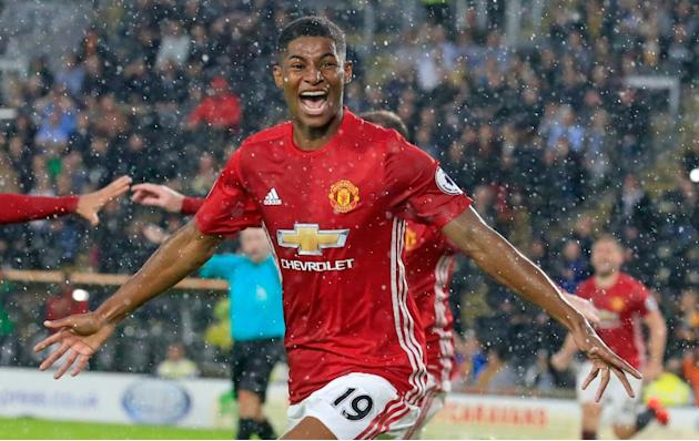 Manchester United manager Jose Mourinho was full of praise for Marcus Rashford after he scored two minutes into stoppage time to give United a 1-0 victory against Hull