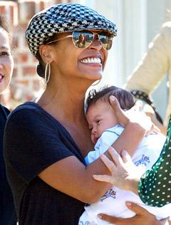 PIC: Meet Nia Long's Baby Boy Kez Sunday!