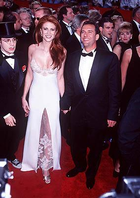 Angie Everhart and fellow 69th Annual Academy Awards Los Angeles, CA 3/24/1997