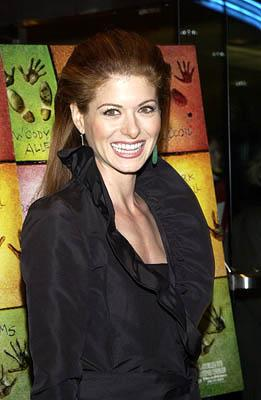 Debra Messing at the New York premiere of Dreamworks' Hollywood Ending