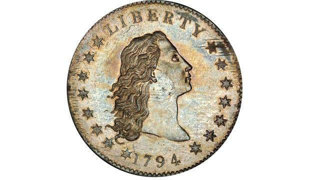 Rare Silver Dollar Coin Sets World Record Auction Price