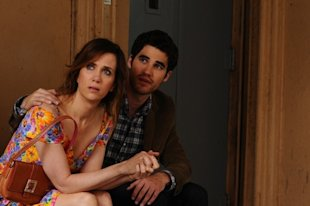 Kristen Wiig and Darren Criss