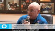 NASA astronaut Scott Kelly rocketed off to the International Space Station on Friday with Russian cosmonauts Mikhail Kornienko and Gennady Padalka. But Kelly will be above Earth for much longer than his two Russian companions. Kelly will live aboard the ISS for a year in an effort to study the effects on the human body of living in space, A typical ISS mission lasts for about six months. Scientists will probe Kelly's health as well as the health of his identical twin, Mark, a retired astronaut. Mark will be Earth-bound, taking part in different experiments while his brother is away.