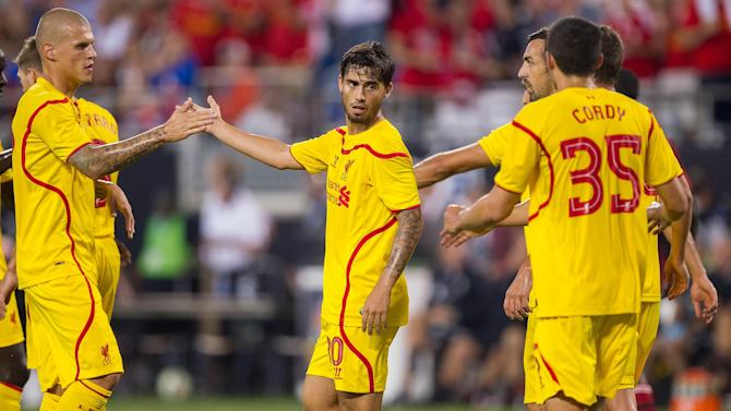 Friendly match - Suso stars as Liverpool beat AC Milan
