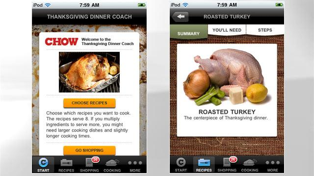 5 Thanksgiving Apps That Do the Work for You…Almost