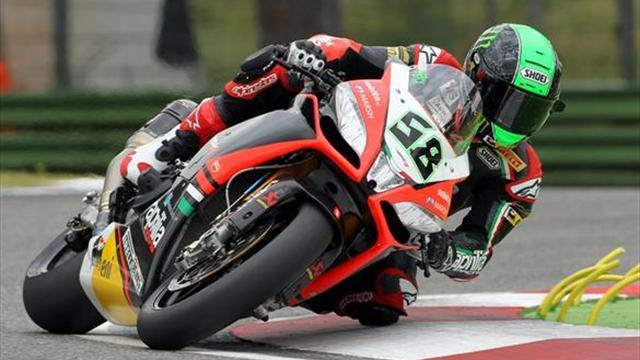Superbikes - Imola WSBK: Risks fail to pay off for crashing Laverty