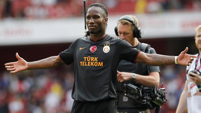 Premier League - Drogba punishes Arsenal for Galatasaray