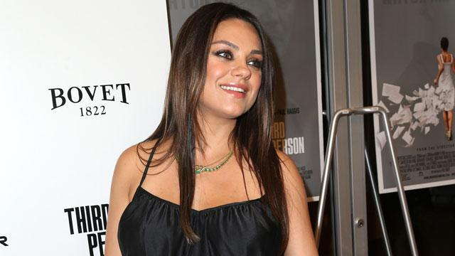 Mila's Message to Men: Don't Say 'We Are Pregnant' (WATCH)
