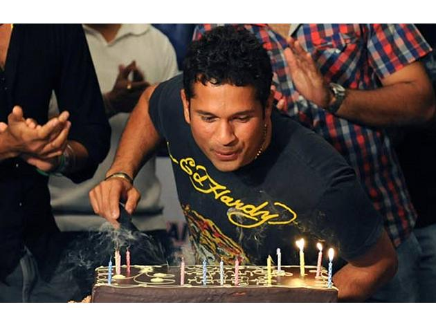 They said he is too old for the ODIs. And he answered them in the way he knows best, going for the big hits and setting new records both for himself and the team. Today, as the Master Blaster turns a
