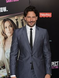 Joe Manganiello attends the Los Angeles premiere of 'What To Expect When You're Expecting' at Grauman's Chinese Theatre, Los Angeles, on May 14, 2012 -- Getty Images
