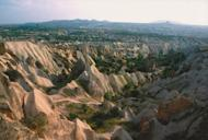 """The so-called Çardak caldera, which spread huge amounts of ash over Cappacocia, is inactive today. Even so, thick layers of volcanic ash have accumulated over millions of years. """"Then, erosion generated there among the most magnificent landscap"""