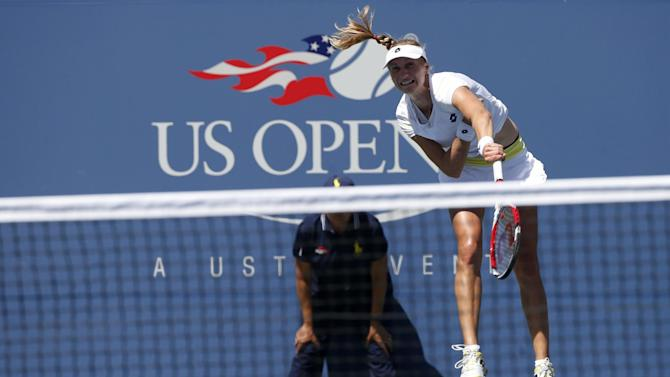 US Open - Makarova beats Azarenka to reach semis