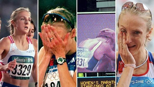 Unluckiest athlete ever? Paula Radcliffe's years of woe