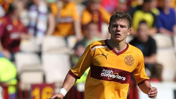 Shaun Hutchinson was cleared to play in Motherwell's friendly win over Hamilton