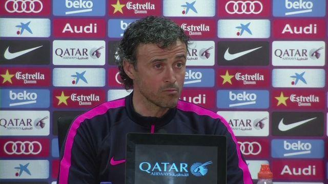 Luis Enrique expects title to go down to the wire