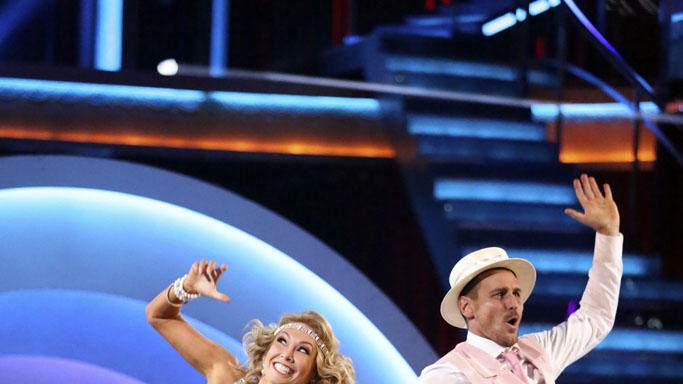 Kym Johnson and Ingo Rademacher (5/13/13)