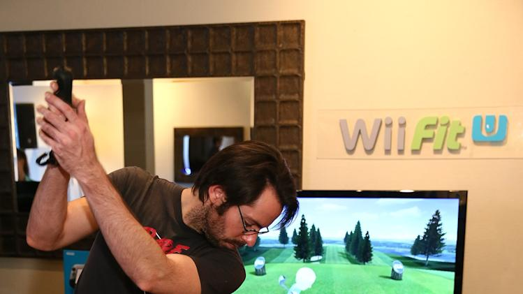 Wii Fit U Brings Fun And Fitness To The Nintendo Chalet During 2014 Sundance Film Festival - Day 3 - 2014 Park City