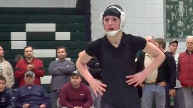 Girl Is Mass. Wrestling Champ