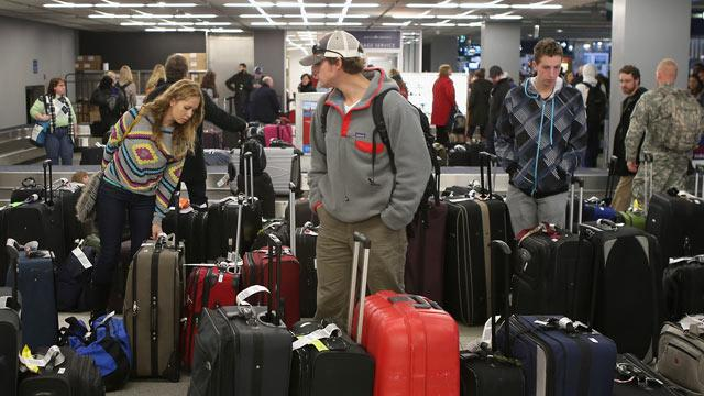 Severe Weather Causes Travel Woes