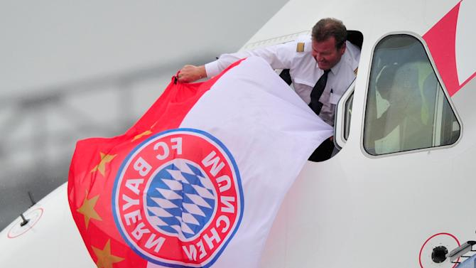 FC Bayern Muenchen Arrives In Munich After The UEFA Champions League Final