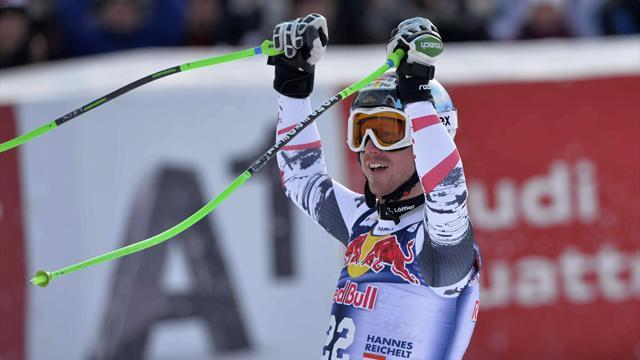 Alpine Skiing - Reichelt ends Austria's eight-year drought at Kitzbuhel