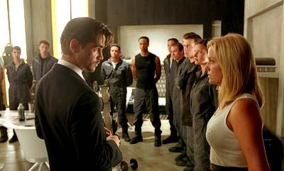 Colin Farrell and Jessica Capshaw in 20th Century Fox's Minority Report